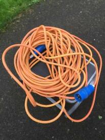 Caravan Electric Hook up Cable 25 metres