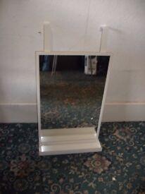 White Hanging Mirror ID 94/11/17