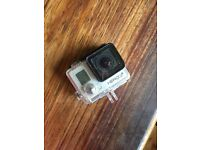 Go Pro Hero 3+ Silver Camera + Indestructible Case