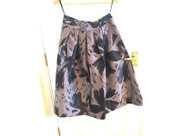Coast skirt black and pink, size 10