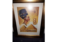 3 x Egyptian Prints (Framed)