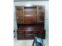 House clearance, kitchen dresser, kitchen table, phone seat, mahogany table, rabit cage, flush light