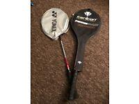 2 x Badminton Rackets