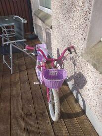Kids 16 inch Raleigh Molly bike