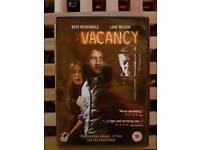Vacancy DVD