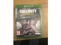 Call of duty WW2 COD WW2 Xbox one