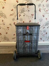Shop-a -seat shopping trolley
