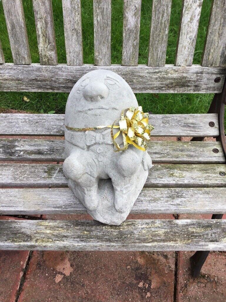 Concrete Humpty Dumpty Ornament