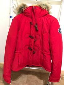 Abercrombie & Fitch Parka Jacket (women's medium)