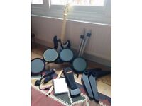 PS2 Rock Band kit (drumkit, guitar, mic etc)