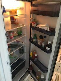 Black fridge