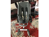Pushchair. Quinny baby buggy with accessories