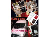 HANDYMAN&MAN&VAN TO HELP FOR HOME INQUIRIES ASSEMBLY IKEA ARGOS FURNITURE,PACKING,TV .MOVING STUFF