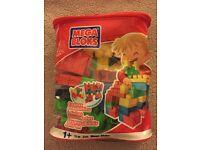 Mega Bloks 70 Piece Pack In Zip Carry Case
