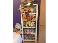 Storage cabinet and toys