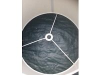Standard lampshade 15 inches in diameter in excellent condition from smoke free home
