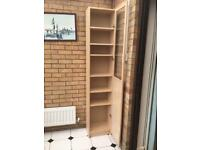 IKEA Billy bookcase - Birch veneer finish - 40cm x 28cm x 202cm. *SSTC*
