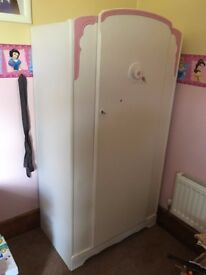 Wardrobe from girls bedroom