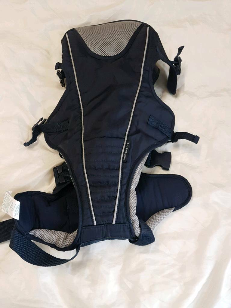 Mothercare baby carrier sling naby blue