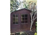 Summer house workshop shed for sale 8ft x 6ft