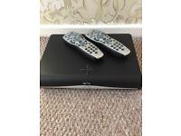 Sky box and 2 remote controls