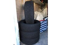 4x4 Winter Tyres 245/65R 17 Hardly Used!!