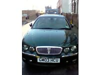 Rover 75 British Racing Green Automatic, Air Conditioning, Leather Seats, CD ChangerMOT end of MAY
