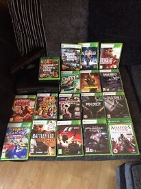 Xbox360 250gb and a few games