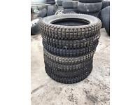 7 Michelin 4.00 R18 trial competition X11 tyres