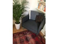 Ikea Mellby Grey Armchair *perfect condition* Stylish, versatile & comfortable!