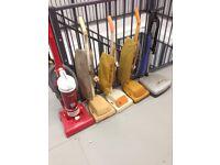 Job lot 4 Hoovers & a polisher