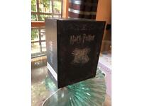 Limited edition Harry Potter Blu-ray and DVD boxset: Films 1-8