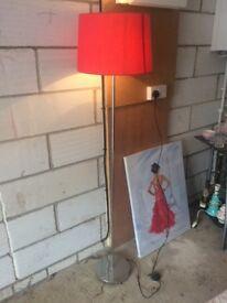 Lamp. Self standing.