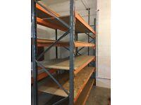 Used Inndustrial Shelving