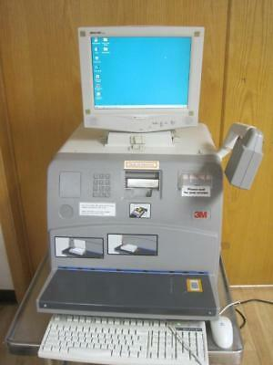 3m Library Systems 6210 Self Checkout Selfcheck W Software Laser Barcode
