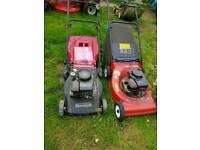X2 mowers spairs and repairs
