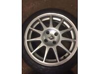 Clio speedline turinis with tyres