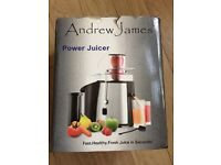 Power juicer - Andrew James. Top of the range juicer