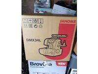 New & Boxed Janome DMX34L Overlocker Sewing Machine