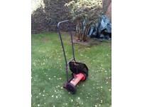 Push rotary lawnmower
