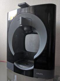 Nescafé Dolce Gusto Oblo Coffee Machine (Black) + 10 Coffee Capsules
