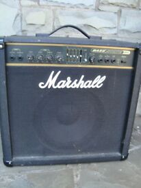 MARSHALL BASS AMP 150 WATT 20 INCH WIDE 19 INCH TALL 12 INCH DEEP £90 FOR QUICK SALE