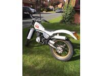 Yamaha TY 250 trials motorbike.