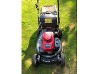 Honda pro hydrostatic easy start mower