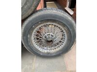 MG CLASSIC ALLOYS AND TYRES 5x Spoked 14inch