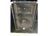 One pair of JBL JRX115 speakers in perfect working order.