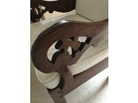 Wooden arm chair for sale