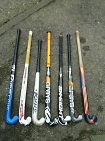 Seven hockey sticks grays,kuke,addidas