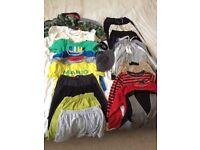 Bundle of boys clothes