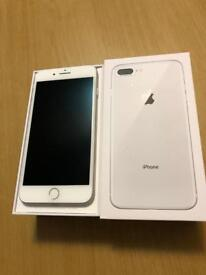 iPhone 8 Plus 64gb. Gold unlocked apple warranty
